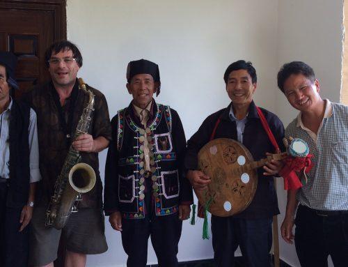 Yannick Rieu – Quand le jazz rencontre la Chine